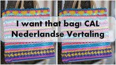 Hebben jullie de mooie tas gezien die Kimberly Slifer heeft ontworpen van Just a girl and a hook als deel van een crochet along genaamd I Want That Bag!? En wil je de tas ook maken maar zie je het …