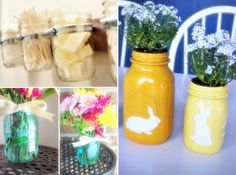 3 lovely projects for repurposing glass jars...