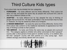 "copyright:  David Pollock and Ruth Van Reken - published in ""Third Culture Kids"""