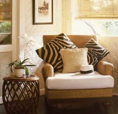 Great seating area | British Colonial Design | Pinterest