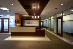law firm design, downtown office