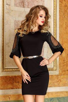 Little Black Dress Outfit, Black Dress Outfits, Elegant Dresses, Beautiful Dresses, Pink Fashion, Fashion Dresses, Civil Wedding Dresses, One Piece Dress, Traditional Dresses