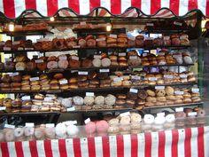 Camden Market -doughnut stall!