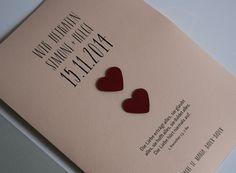 Kirchenheft Hochzeit / Wedding program