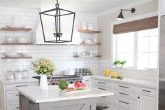 Drool-worthy modern farmhouse kitchen hero
