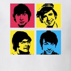 The Monkeys 60's Rock Pop band t-shirt retro music tee shirts