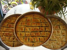 Greek Cooking, Greek Dishes, Pastry Art, Greek Recipes, Dessert Recipes, Desserts, Apple Pie, Food To Make, Food And Drink