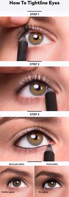 Use Younique's Moodstruck Precision Pencil Eye Liner in the color Perfect to get the look from this tutorial!