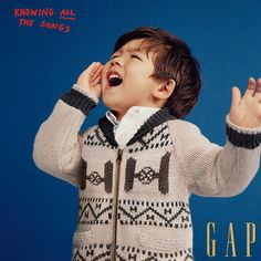 Toddler's cardigans they'll want to shout about. Let your favorite little man sing loud and proud while being cozy and cute. Find graphic sweaters, zip hoodies and more at the gap.com.