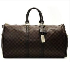 Mala De Viagem Importada Louis Vuitton Keepall 55 Monogram