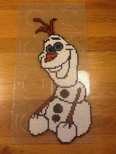 Frozen- Olaf van strijkkralen