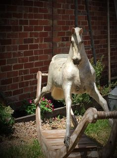 fabulous old rocking horse
