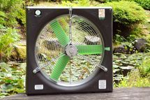 Greenhouse fan that runs on solar direct! great for greenhouses that don't have power. snapfans.com