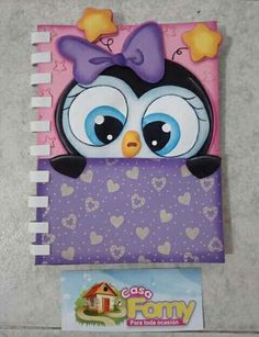 Foam Crafts, Paper Crafts, Diy Crafts, Pencil Art Drawings, Easy Drawings, Notebook Cover Design, Unicorn Crafts, Decorate Notebook, Baby Art