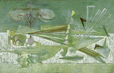 Rothko, Mark (1903-1970) - 1944 Agitation of the Archaic (Whitney Museum of American Art, New York City) | Flickr - Photo Sharing!
