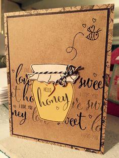 Sweet As Honey   4×6 Stamp Set – Honey Bee Stamps