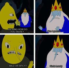 Ice king lemon grab Adventure time