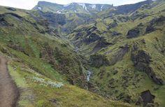 Fimmvörðuháls pass, Iceland