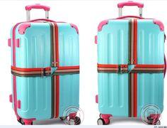 4.2m baggage belt luggage suitcase travel luggage suitcase strap