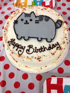 Awesome Pusheen cake!