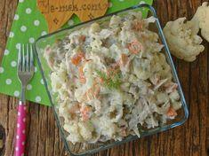 Tavuklu Karnabahar Salatası Resimli Tarifi - Yemek Tarifleri
