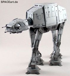 Star Wars: AT-AT, Modell-Bausatz ... http://spaceart.de/produkte/sw046.php