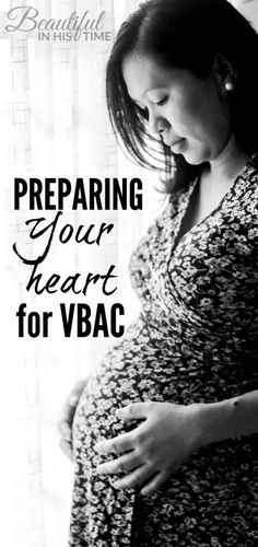 Preparing your heart for VBAC