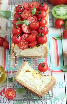Vite vite avant la fin des tomates pour déguster ma version de la fameuse salade tomates mozzarella. Une version tarte qui reprend tous le...