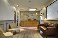 Reception in Veribo's Tel Aviv Offices