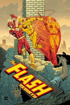 The Flash: Rebirth #5 cover by Ethan Van Sciver