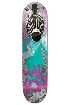 Candy Flip Jeron Wilson skateboard deck by Girl.