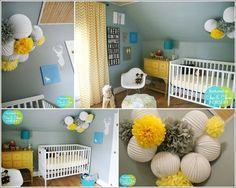 Décorez+la+chambre+de+votre+bébé+avec+des+pompons+6.jpg 802 × 640 pixels