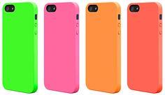 色鮮やかなネオンカラーのiPhone 5用ハードケース「SwitchEasy NEON for iPhone 5」 [In store now] #iPhone