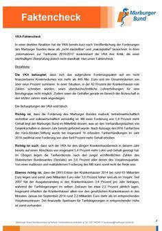 Faktencheck: VKA-Tarifrunde 2014/2015 - Seite 2