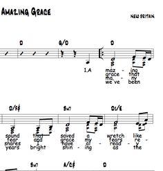 Amazing Grace, Capo 2 in D