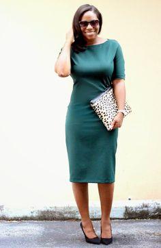 Hunter green & the Love,Cortnie 'Spotted' calf hair clutch.  via My Garments of Praise: Simple Favorites