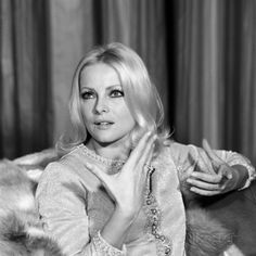 Virna Lisi Interviewed in the Living Room of Her House