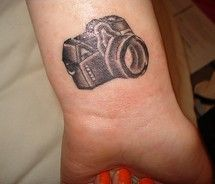 I am looking for camera tattoo ideas.