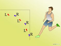 How to High Jump (Track and Field). The high jump track and field event requires skill, agility and speed. After sprinting to gain momentum, jumpers launch over a high bar and land on a crash mat on the other side. Track Workout, Running Workouts, Running Training, Running Tips, Track Quotes, Running Quotes, Running Motivation, Long Jump, High Jump