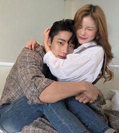 Couple Korean 🌈 shared by ʀᴏᴄᴋs✞ᴀʀ on We Heart It