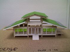 Sustainable house model