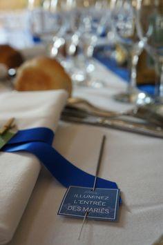 Mariage Romantique Vert et Bleu Royal - Dessine-moi une étoile (Event Design)