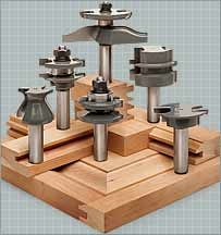 A guide to MLCS and Katana router bits used to make kitchen cabinets, raised panel doors and drawers, and fine cabinetry Wood Router, Router Woodworking, Woodworking Tools, Router Bits, Router Cutters, Carpenter Tools, Tools And Toys, Raised Panel Doors, Tools Hardware