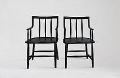 Sawkille | Oxidized Cherry Senate Chair