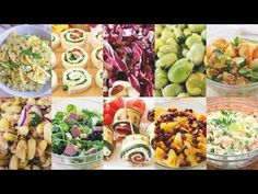 10 RICETTE FRESCHE PER L'ESTATE - #compilation di Idee per Piatti Freddi Facili e Veloci - YouTube Yogurt, Estate, Cobb Salad, Potato Salad, Homemade, Cooking, Ethnic Recipes, Youtube, Food