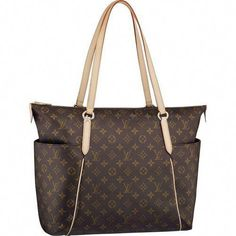 809654097b75 Louis Vuitton Monogram Canvas Totally Gm M56690. Always wanted this bag.   Louisvuittonhandbags Louis