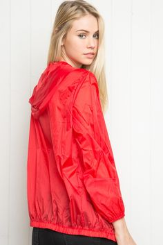 Brandy ♥ Melville | Scar Windbreaker Jacket - Outerwear - Clothing