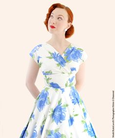 Grace Dress from Vivien of Holloway | 1950s Dresses from Vivien of Holloway - Great fabric choice.