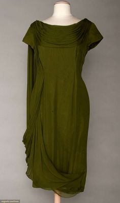Madame Gres Chiffon Evening Dress, 1960, Augusta Auctions, November 2, 2011 NYC, Lot 104