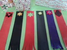 Handmade leather bookmarks from Emporium